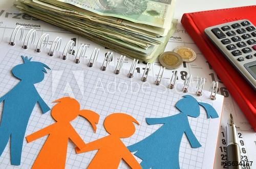 pieniądze na dzieci