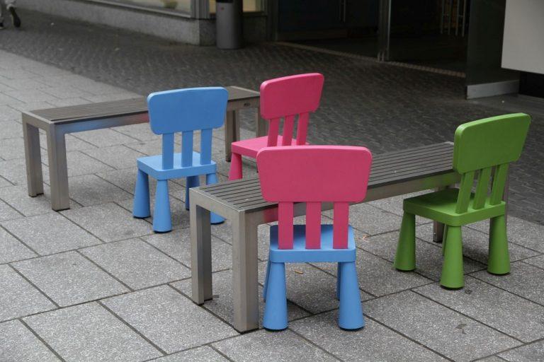krzesła z Ikei