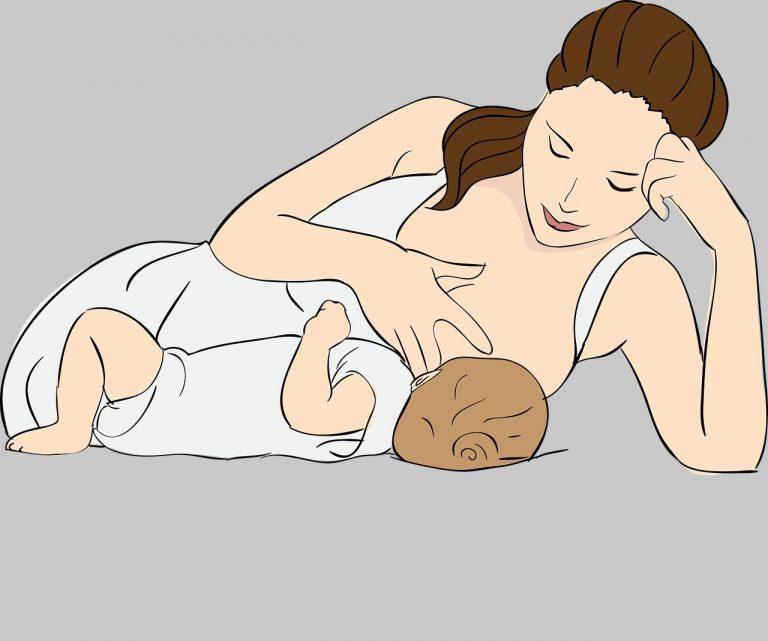 matka karmi dziecko