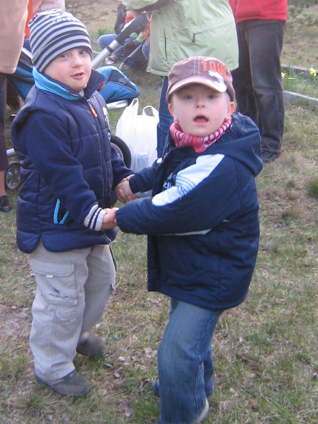 dzieci z zespołem Downa