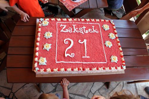 zakątkowy tort