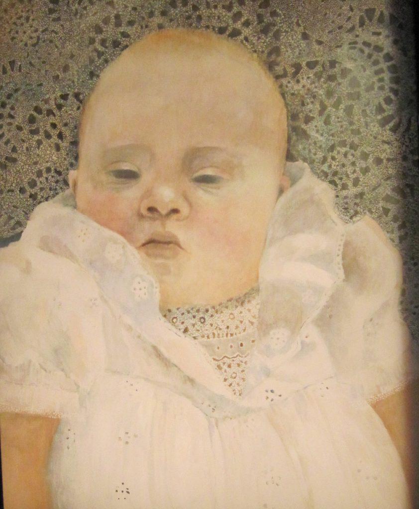 portret niemowlęcia