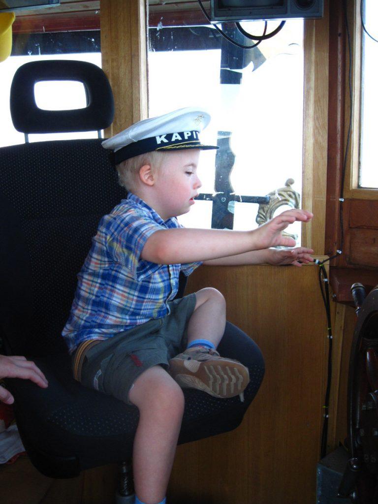 kapitan na jachcie