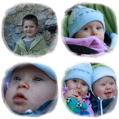 portrety dzieci