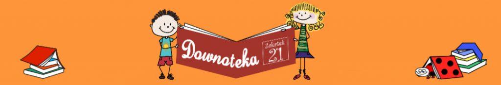 logo Downoteki, biblioteki wysyłkowej