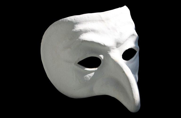 maska teatralna