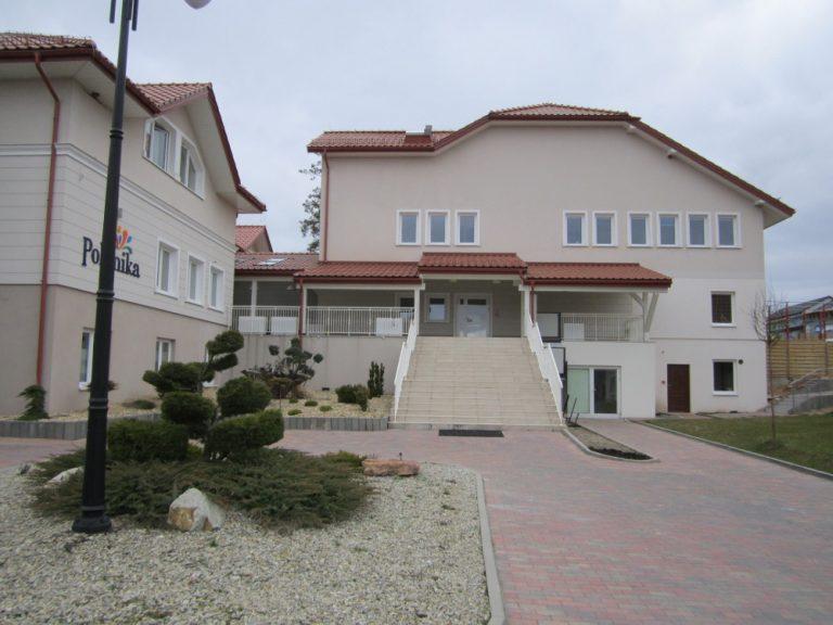 budynek ośrodka Polanika