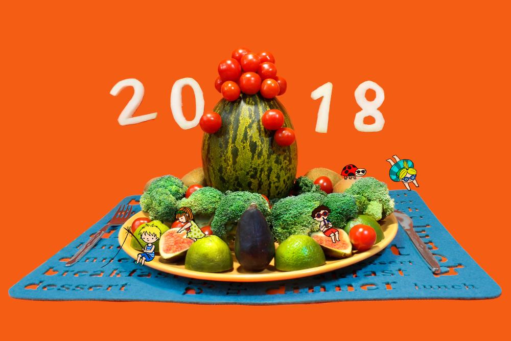 Okładka kalendarza na 2018 rok