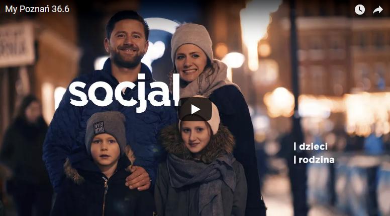 Kadr z filmu kampanii społecznej przedstawiający rodzinę