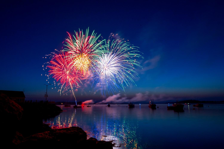 noworoczne ognie sztuczne