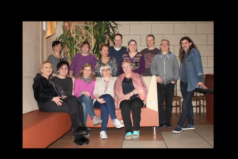 Na zdjęciu uczestnicy Walnego Zebranie Członków Stowarzyszenia Zakątek21