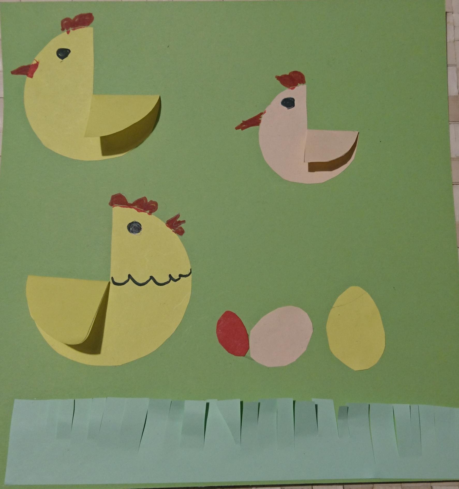 kurka i kurczaczki