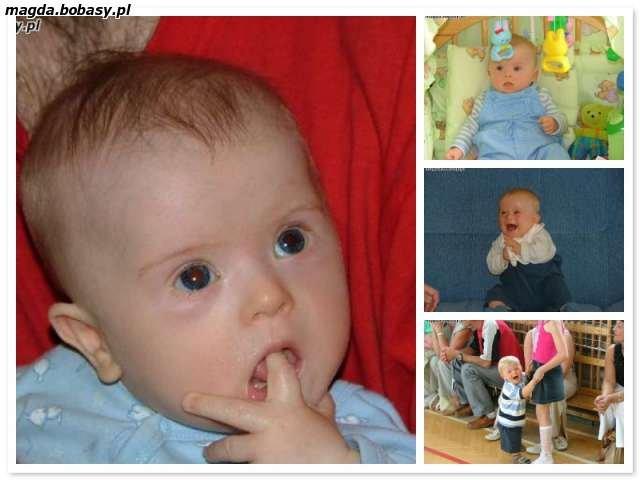 Zdjęcia Kuby jako niemowlęcia