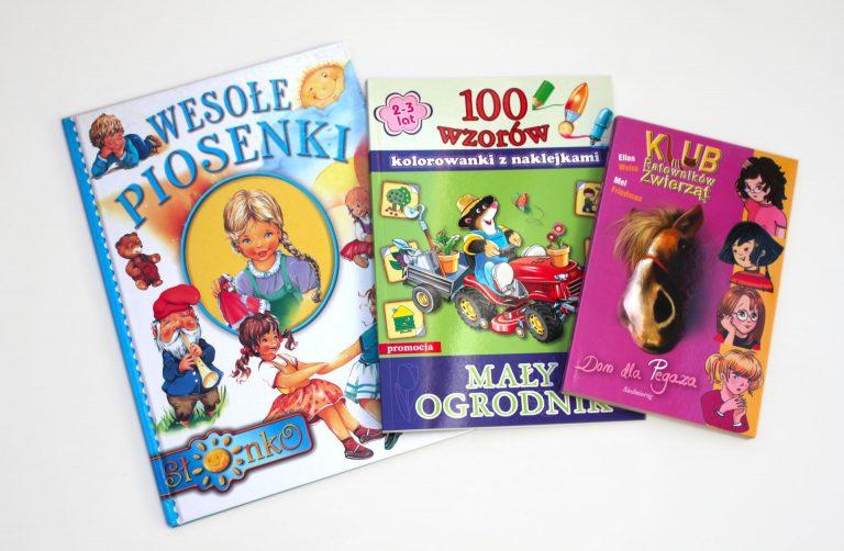 ksiązki nagrody na marcowy konkurs