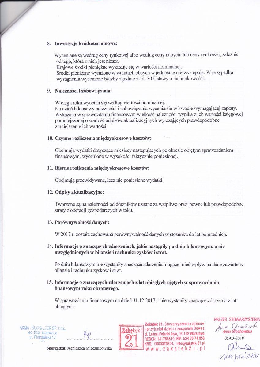 sprawozdanie finansowe strona 3