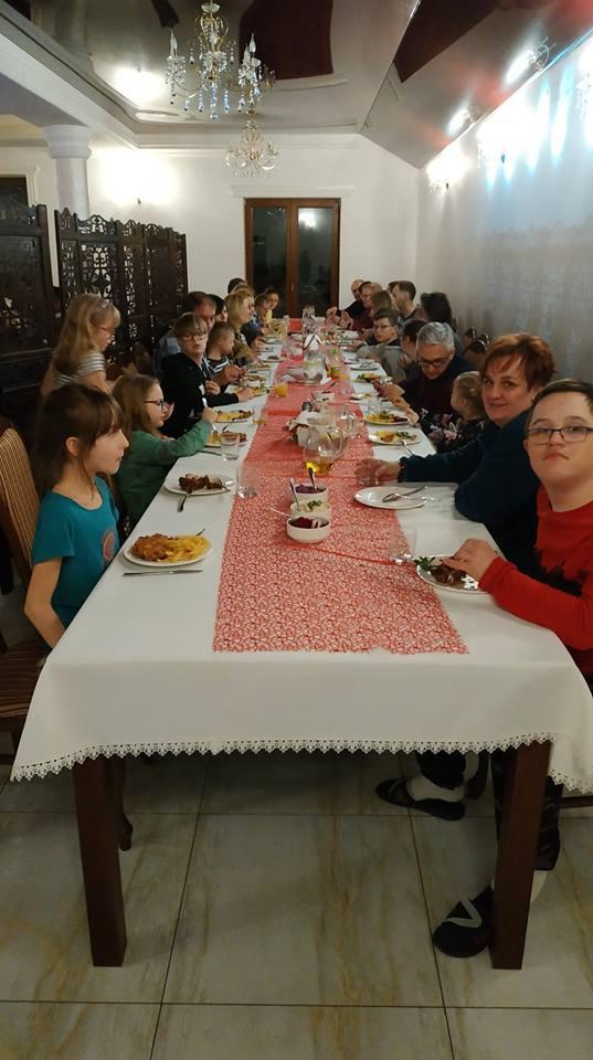 kolacja członków